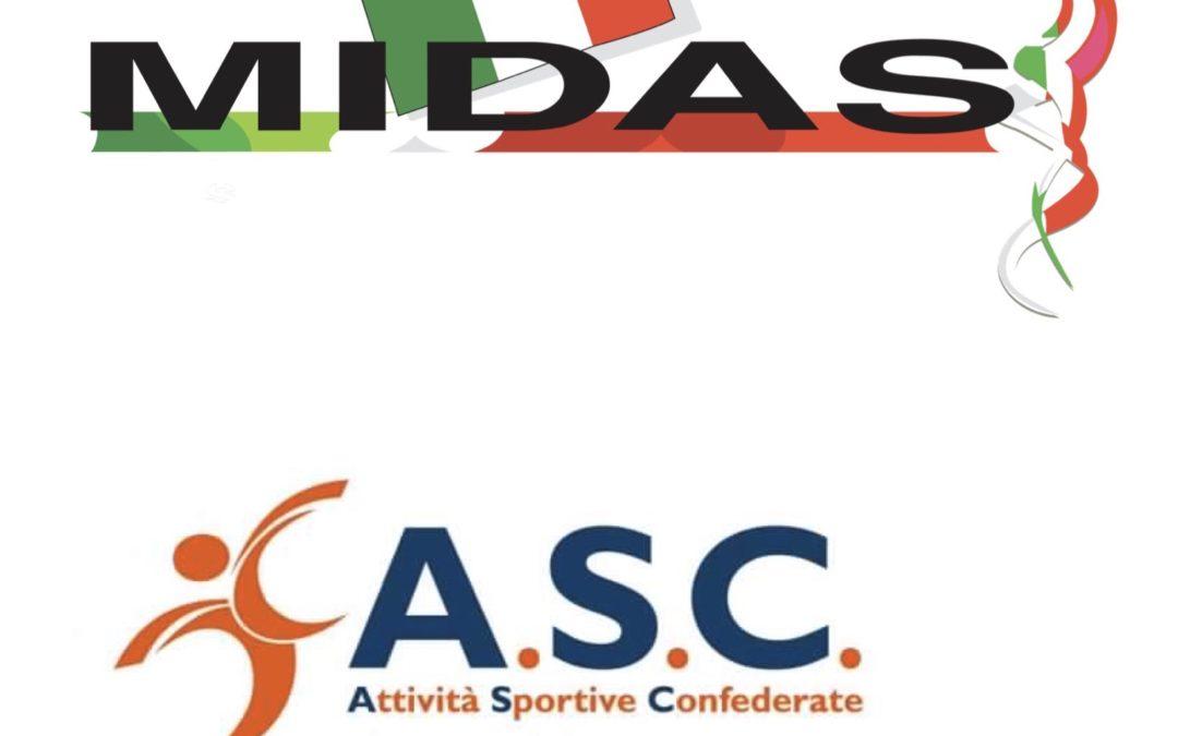 ALLINEAMENTO ABILITAZIONE SPORTIVA (SNAQ-CONI) ASC-MIDAS